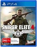 [PS4] Sniper Elite 4 $20 + Delivery (Free with Prime/ $49 Spend) @ Amazon AU