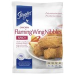 ½ Price Steggles Flaming Wing Nibbles 1kg $8 @ Coles