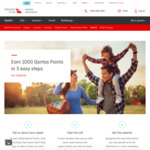1,000 Qantas Frequent Flyer Points for Filling out Form and Taking a Call from Qantas Insurance