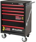 "Toolpro Tool Cabinet, 6 Drawer, Roller Cabinet - Black, 27"" $189.05 + Delivery (Free C&C) @ Supercheap Auto eBay"