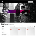 50% off Everything @ adidas Outlet Online (Prices from $7.50, Free Shipping Over $100, Free Returns)
