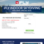 [QLD] 2 Indoor Skydives $50 Per Person @ iFly (Gold Coast)