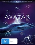 Avatar Extended Collector's Edition (3 Disc) $8.52 (SOLD OUT) + Delivery (Free with Prime/ $49 Spend) & More @ Amazon AU