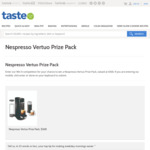 Win a Nespresso Vertuo Prize Pack Worth $368 from News Life Media