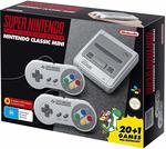 Super Nintendo Classic Mini (SNES) $99 Delivered @ Amazon AU