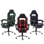 PU Gaming/Office Chair with Leg Rest $117 Delivered (New Customer 10% off) @ GShopper