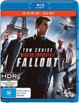 [Backorder] Mission Impossible Fallout 4k 2-Disc $10.66 + Delivery (Free w/ Prime or $49 Spend) @ Amazon AU