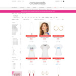 Take 30% off Sale Items + Free Shipping over $30 @ Crossroads (Tops Starting at $3.90)
