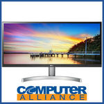 "[eBay Plus] LG 29"" 29WK600-W IPS HDR10 Ultrawide LED Monitor with Speakers $279.65 Delivered @ Computer Alliance eBay"