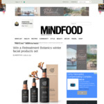 Win a Retreatment Botanics Winter Facial Products Set Worth $249 from MiNDFOOD
