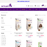 Bravecto Chew Range $39.99 + Shipping (Free with $49 Spend) @ Net to Pet