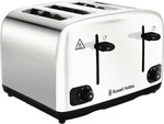 Russell Hobs Legacy 4 Slice Toaster $49 (Was $99) @ The Good Guys