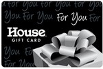 $10 off Purchase (Works with Physical Gift Card & Delivered Free, 1 Use Per Account) @ House