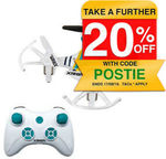 Xtreem 7.7cm Mini Pocket RC 2.4GHz Quadcopter Drone Remote Control Flying Toy $15.20 Delivered @ KG Electronic eBay