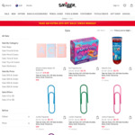 Extra 25% off All Sale Items (Starting at $0.15) + Free Delivery on All Orders (No Minimum Spend) @ Smiggle
