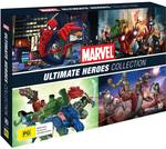 Marvel Ultimate Heroes DVD Collection $27.50 (Was $55) @ Big W