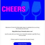 Receive Bonus $40 Vinomofo eGift Card (No Minimum Spend) Seven Days After Activating Mobile SIM Card @ Circles.Life