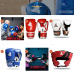 Up to 50% off Boxing Gear & Cricket Balls - Impact Entry Level PU Leather Sparring Gloves $35 & More @ Iron Heart Sports