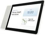 "Lenovo Smart Display - 10"" White/Bamboo $199.20 Free C&C / + Delivery @ The Good Guys eBay"