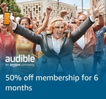 Audible: $7.45 Per Month for 6 Months (Was $16.45) @ Amazon AU (New Customers)