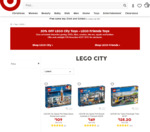 20% off LEGO City and LEGO Friends at Target