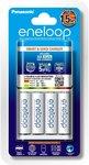 [Back Order] Panasonic Eneloop Smart Charger + 4 AA Batteries $26.40 Delivered @ Amazon AU