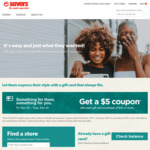 """[VIC, SA] Get a """"$5 off $15 Spend"""" Coupon with a Minimum $30 Gift Card Purchase @ Savers"""