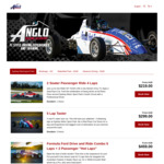[NSW] 25% off F1 Style Driving Experiences, 31/1 (e.g. 10 Lap Racer $335.51) @ Anglo Racing Academy (Sydney Motorsport Park)