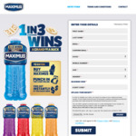 Instant Win 1 of 30x $1,000, or 1 of 1,699,970x $1 - Buy Maximus 1L