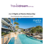 [NSW] 2BR Apartment at Mantra Nelson Bay $269 for 2 Nights (Mon - Fri Only, Excludes School Holidays) via Traveldream