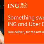 Free Delivery Promo with ING and Uber Eats for The Rest of April