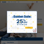 25% off Sitewide @ Ecosa (Bedding and Mattresses)