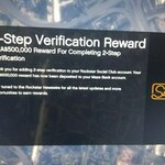 Enable 2-Step Verification to Receive $500,000 in-Game Currency @ GTA V