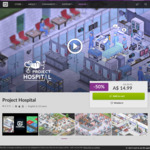 [PC] DRM-free - Project Hospital $14.99/Armikrog $2.29 (was $11.49)/Shadow Tactics: Blades of the Shogun $11.49 - GOG