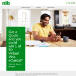 Win 1 of 50 $200 Virtual Visa eGift Cards from nib [Obtain Quote]