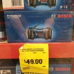 [TAS] Bosch Blue GML Soundboxx 14.4v/18v Radio Skin - $49 @ Bunnings Mornington