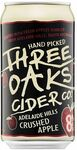 Three Oaks Crushed Apple, 375ml 8% Alc. Carton (30 Cans) - $50 (Was $80) + $8 Shipping @ Sippify