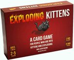 Exploding Kittens Card Game $20.97 + Delivery ($0 Amazon Prime) @ Amazon AU