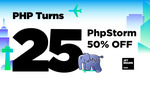 PHPStorm 50% off New and Renewal USD $44.50/Year @ JetBrains