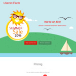 Usenet Farm 20+% Discount