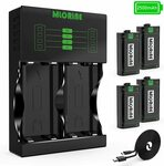 Xbox One Rechargeable Battery Packs 4x 2500mAh $50.14 Delivered @ MlorineAU via Amazon AU