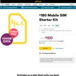 Optus Prepaid $180 SIM Starter Kit (100GB Data, 365 Day Expiry) - $150 @ Optus (Online Only)