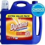 Dynamo Professional Oxi Plus Laundry Detergent 5.4L $22 @ Big W