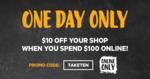 $10 off $100+ Online Spend @ First Choice Liquor