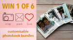 Win 1 of 6 Prizes of Two Snap Pack Love 94-Page Photobooks from Seven Network