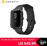 Amazfit Bip GPS w/ Bonus Strap US$41.58 (AU$59.94) Delivered @ Amazfit Official Store AliExpress