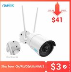 Reolink RLC-410W 4MP Home Security Camera US$42.90 (~A$59) Delivered @ Reolink Offical Store AliExpress