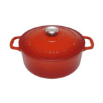 Chasseur Round French Oven Red 26cm-5.2l/24cm3.8l- $199.95/$179.95 ($184.95/ $164.95 with $15 Signup Voucher) @ Kitchenwarehouse