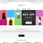 40% off Storewide on Womens Fashion + Free Shipping over $50 @ Nine2five