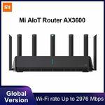 Xiaomi Mi Aiot Router AX3600 Wi-Fi 6 Dual-Band 2976 Mbs Global Ver. US$103 / A$137.55 Shipped @ Xiaomi Mc Store AliExpress
